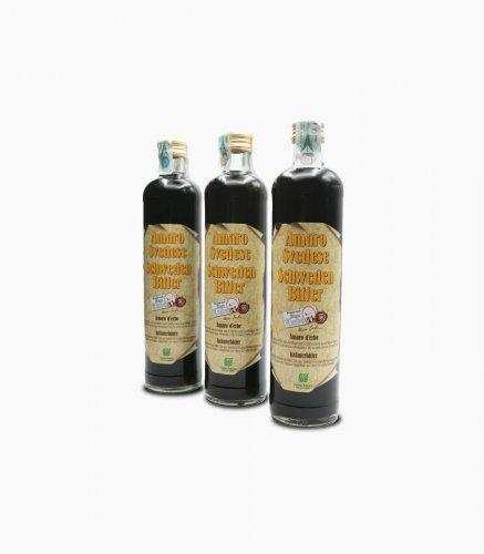 """AMARO SVEDESE """"MARIA TREBEN"""" - n° 3 bottiglie da 500 ml"""