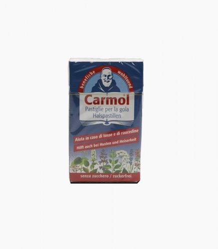 CARMOL CARAMELLE GOMMOSE ALLE ERBE SENZA ZUCCHERO - confezione da 45 gr