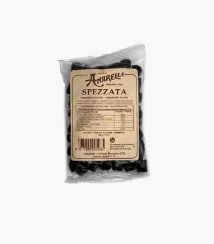 LIQUIRIZIA AMARELLI - spezzata - 10 sacchetti da 100 gr cad.