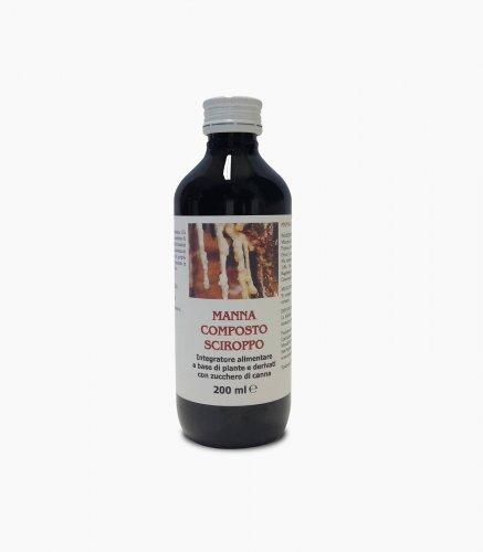 MANNA COMPOSTA SCIROPPO - flacone da 200 ml